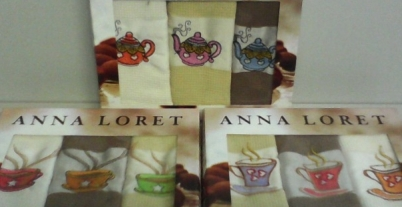 Полотенце Anna loret Coffee A 3 шт.
